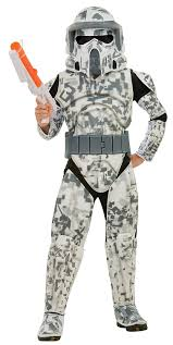 military halloween costume amazon com star wars the clone wars child u0027s deluxe costume and