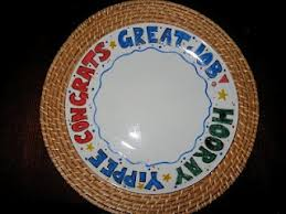 celebration plates 7 best celebration plate ideas images on painted