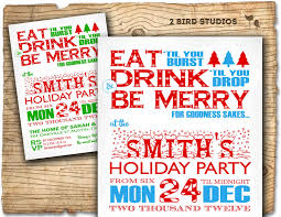 christmas party invitation holiday party invitation