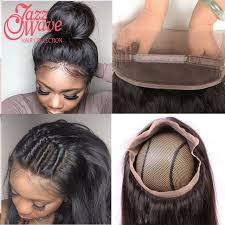 hair braid for a closure top 360 lace frontal with bundle brazilian straight hair lace