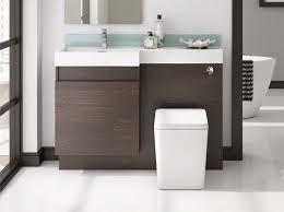 vanity oak vanity unit combined toilet and sink floor standing