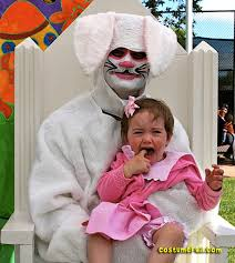 easter bunny costume scary easter bunny costume costume fail