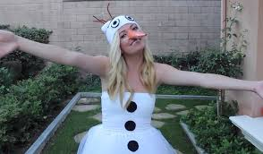 olaf costume diy olaf costumes low cost looks for frozen s silly