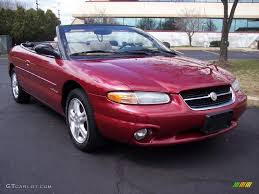 chrysler sebring show cars chrysler sebring jxi convertible