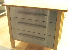 ikea kitchen island with drawers stainless steel kitchen drawers captainwalt com