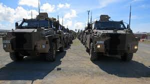 army vehicles how to see 185 army vehicles 420 personnel in mackay mackay daily