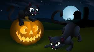 animated halloween desktop background scary cartoon wallpapers free