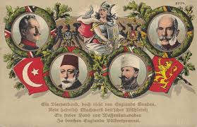 Ottoman Germany Central Powers Consist Of Austria Hungary Germany Bulgaria And