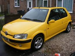 peugeot yellow solved standard 2000 106 gti sundance yellow 54500miles 106