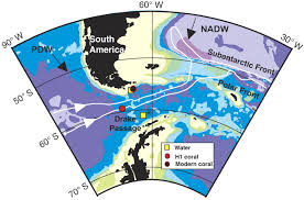 Southern Ocean Map Southern Ocean Evidence For Reduced Export Of North Atlantic Deep