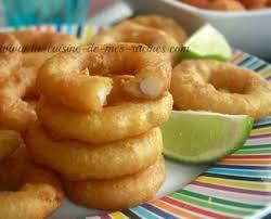 cuisiner des calamars beignets de calamars la cuisine de mes racines