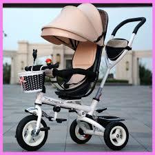 si e bebe velo pliage rotatoire siège bébé bébé enfant en acier tricycle poussette