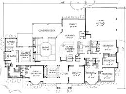 Architectural Plans For Houses Sure Don U0027t Need 6 Bedrooms A Library Etc But I Like The