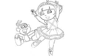 halloween ballerina coloring pages alltoys