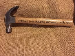 Personalized Keepsakes Personalized Keepsake Hammer Father U0027s Day By Boredmommajewelry