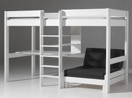 lit mezzanine et canapé lit mezzanine avec canape avec lit lit 2 places mezzanine