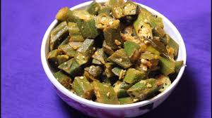 udupi style okra bendi dry english recipe countncook with