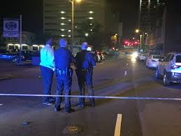 28 adults juveniles injured in mass shootout at downtown little