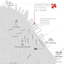 San Francisco Tram Map by Find Us Swissnex San Francisco