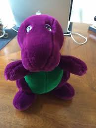 Barney And Backyard Gang 1990 Dakin Barney The Dinosaur Backyard Gang First Ever Plush 10