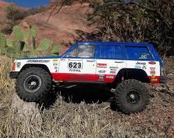 baja jeep cherokee team raffee co axial scx10 cherokee xj hard plastic body kit 1