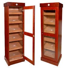 cigar humidor display cabinet cabinet cigar humidor cuban crafters