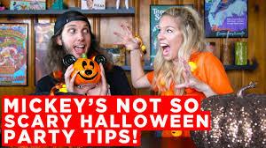 mickey u0027s not so scary halloween party tips youtube