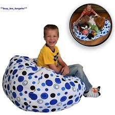 extra large stuff u0027n sit the stuffable storage bean bag clean up