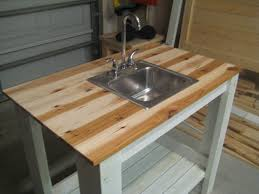 How To Build A Simple Kitchen Island Ana White My Simple Outdoor Sink Diy Projects