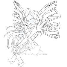 bloom sirenix coloring 2 mskittencreations deviantart