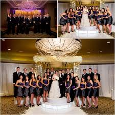 Purple And Silver Wedding White Silver And Purple Wedding At Hotel Zaza Houston Wedding Blog