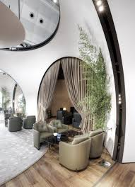 modern turkish airlines cip lounge design by autoban interior