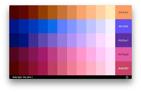 softpress introduces chroma for mac complementary color palettes