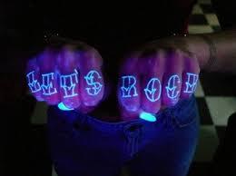 Black Light Tattoos Blacklight Tattoos Wired