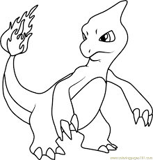 zombie pokemon coloring pages charmeleon pokemon coloring page free pok mon pages intended for