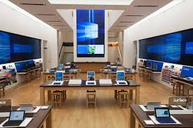 Apple Store Paris See Microsoft U0027s New Flagship Store Compared To An Apple Store