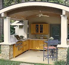 outside kitchen ideas the best covered outdoor kitchen ideas and designs