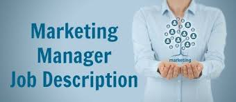 Job Desk Marketing Bank Sample Marketing Manager Job Description