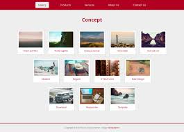 concept web responsive template all free web themes u0026 templates
