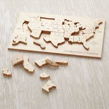 Giant Map Of The United States by All American Usa Floor Puzzle The Land Of Nod Amazoncom