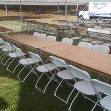 banquet table rentals 6 ft rectangular table rental outdoor party wedding tables