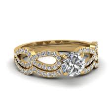 Gold Wedding Ring Sets by Custom Design Your Own 14k Yellow Gold Wedding Ring Sets