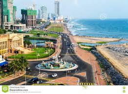 Modern Buildings Aerial View Of Colombo Sri Lanka Modern Buildings Stock Photo