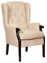 Orthopaedic Armchairs Rome Orthopedic High Back Chair Queen Anne Style Fireside Chair