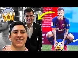 Challenge Xbuyer Conozco A Coutinho En Su Presentación Con El Barça
