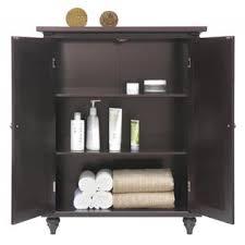 2 Door Floor Cabinet Home Fashions Versailles Floor Cabinet With 2 Doors
