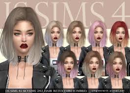 cc hair for sism4 spring4sims hair for females