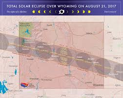 Mountain Time Zone Map 2017 Total Solar Eclipse In Wyoming