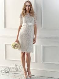download lace short wedding dress wedding corners