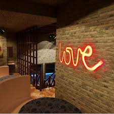 aliexpress com buy love shape wall hanging lights led lamp for